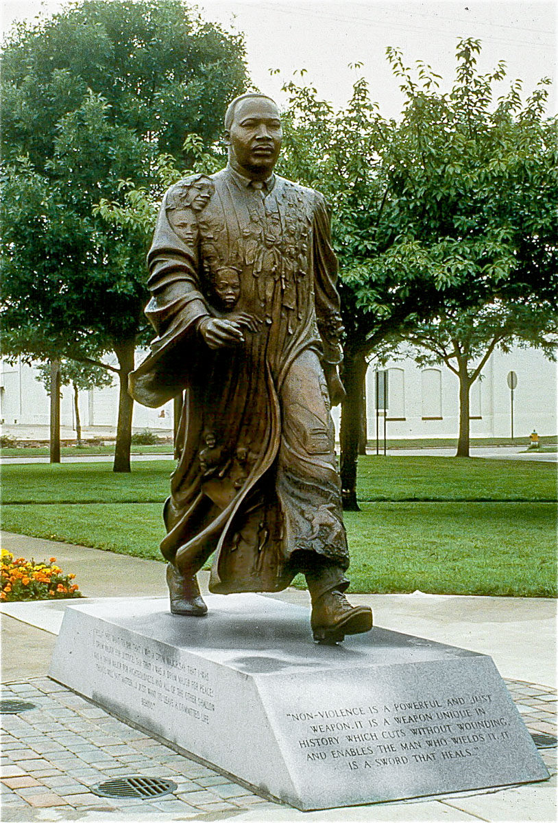 Martin Luther King Memorial, Kalamazoo, Michigan