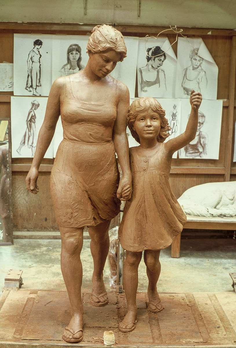 Mother and Child Sculpture Garden